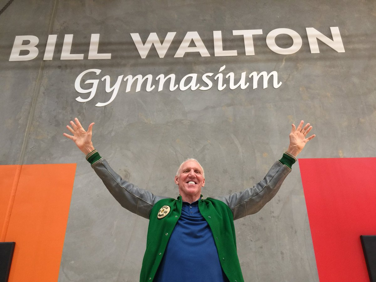Bill Walton gym