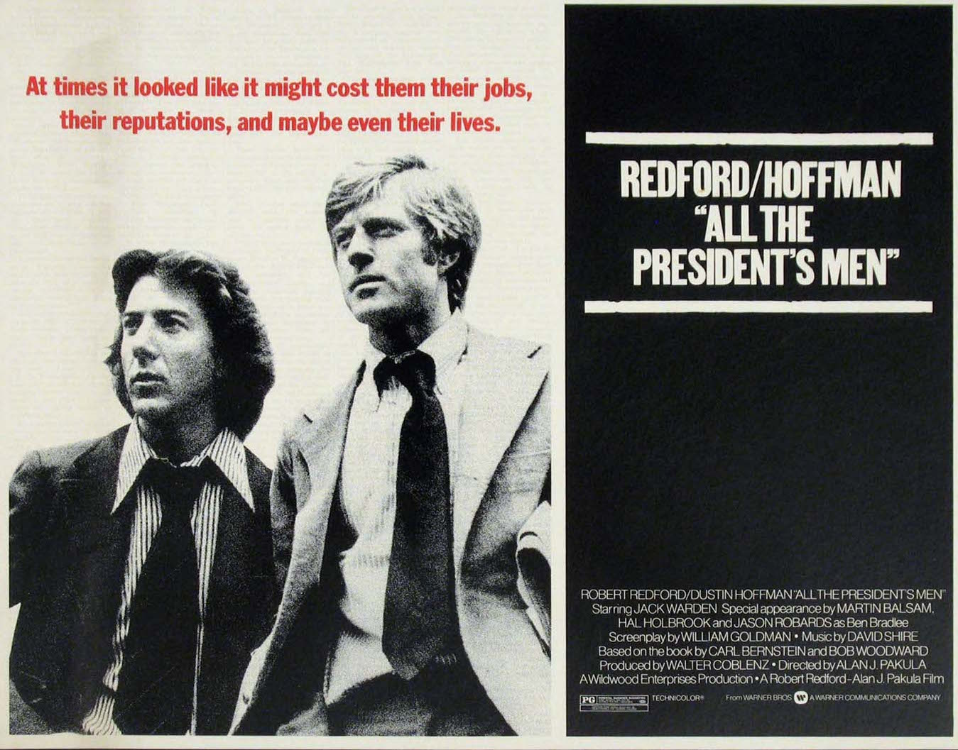 40th anniversary of Watergate scandal film All the President's Men