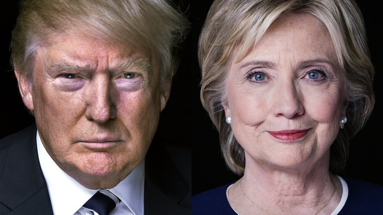 Looks Like It's Trump & Clinton Political Uncertainty