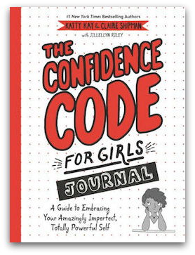 The Confidence Code for Girls Journal dropshadow