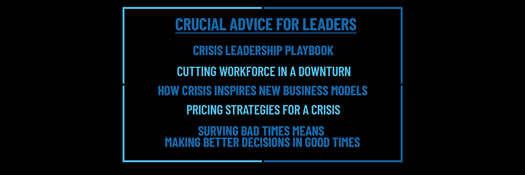 How to Tame a Business Crisis: Fortune's Geoff Colvin Addresses Top Leaders at Virtual Event
