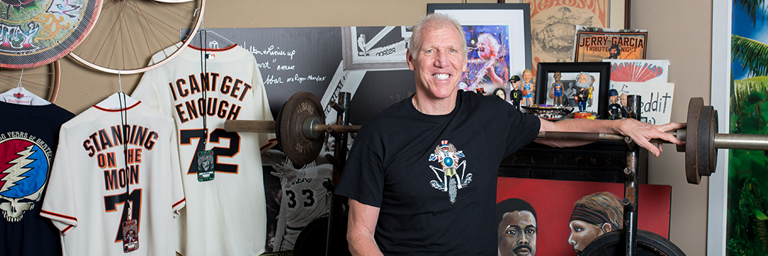 ZOOMING WITH BILL WALTON: A MASTERCLASS IN POSITIVITY